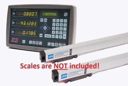 Usa Made Digital Readout Dro Display Only W 3 Adapters For 6 Pin Anilam Scales
