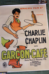 Caught In A Cabaret/garcon De Cafe 1925 46andrdquo X 62.5andrdquo French Movie Poster Lb