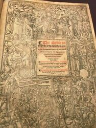 1541 Great Bible Pristine Museum Quality 100% Complete. Francis Fry Provenance