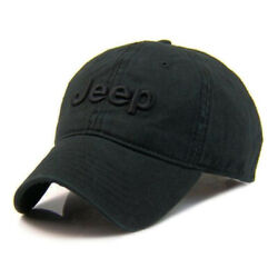 Hot Black Jeep Hat Tennis Baseball Golf Casual Embroidery 100% Cotton Cap