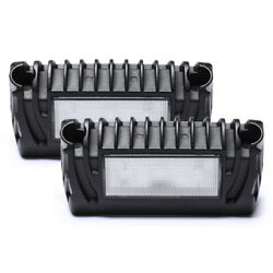 Pair Rv Exterior 12v Led Porch Utility Light Awning Outside Lamps Roof For Boat