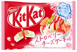 Japanese Kit-Kat Strawberry Cheese Cake Summer Ltd KitKat Chocolates 13 bars NEW