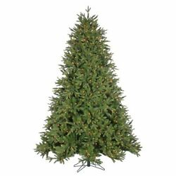 9and039 Deluxe Trinity Pine Prelit Led Artificial Christmas Tree