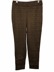 Joan Rivers Women's Reg. Length Houndstooth Pull-On Ankle Pants X-Large Size QVC