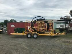 2008 Sweetwater Metal Products Coiled Pipe Reel Spool Trailer Mcelroy Line Tamer