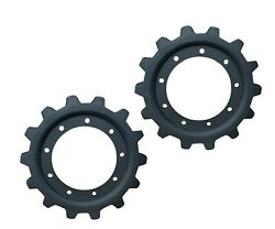 2 Drive Sprockets14 Tooth 9 Bolt 242mm Fits Many Skid Steers- 08811-60110