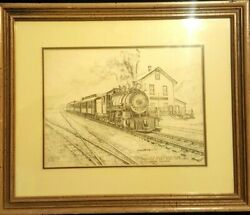 Vintage By Joseph W. Woltcheck/old No.12 East Broad Top