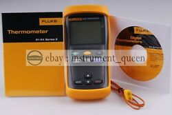 Fluke 51-ii Contact Thermometers Single Input Digital Thermometer F51-2 New