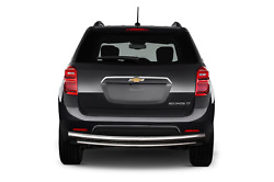ATU 10-17 Equinox / Terrain Stainless Rear Bumper Guard Protector Double Layer