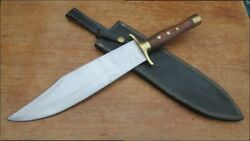 Heavy Duty Old Custom-made Vintage Carbon Steel Bowie Hunting Fighting Knife