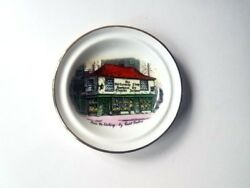 2 Plates Rosina China Mini Dickens Old Curiosity Shop Collectors Plate London