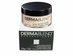 Dermablend Loose Setting Powder Cool Beige 1oz - New In Box Sealed Authentic