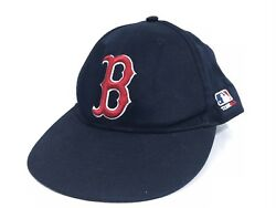 Boston Red Sox Youth Size Baseball Hat Cap MLB OC Sports Strapback Navy Blue $7.49
