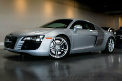 2010 Audi R8 *6-Speed Manual* *Adult Owned* 2010 AUDI R8 COUPE 6-SPEED MANUAL ONLY 10K MILES SILVER BLADES B
