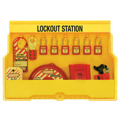 MasterLock S1850V410 Lockout Station (Filled)  AUTHORISED DEALER