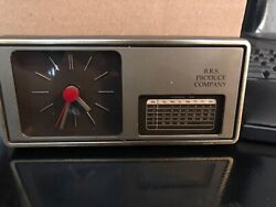 Brs Produce Company Calender Clock Early 90s Used Good Condition
