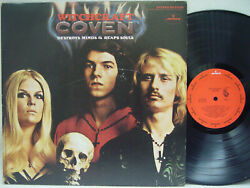 Coven - Witchcraft Destroys Mind And Reaps Souls Lp 1st Us Pressing On Mercury