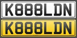 The Coolest Car Number Plate For Sale. K888ldn .get It Now Why Wait. Buy It Now