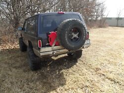 Ares Fab Jeep Cherokee Xj Rear Evolution Expedition Tire Carrier Complete Bumper