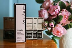 Mary Kay TimeWise Matte-Wear Liquid Foundation (Ivory 6) plus 3 sample s