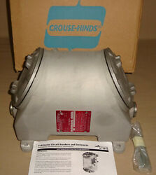 Crouse Hinds Flb141 Circuit Breaker Enclosure Explosionproof Flb43 Size 1-1/2