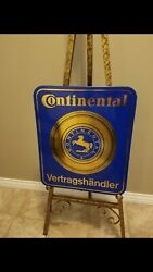 Continental Tire Sign