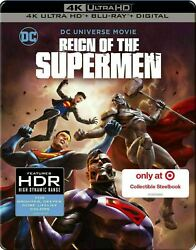 Reign Of The Supermen - Limited Edition Steelbook [4k+ Blu-ray] New And Sealed