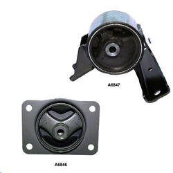 Front Left And Right Motor Engine Mount 2pcs Set For Suzuki Sx4 L4 2.0l