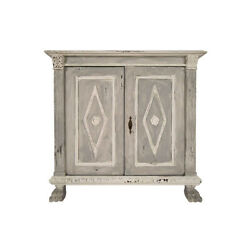 Italian Baroque-style Antique Painted Server or Cabinet