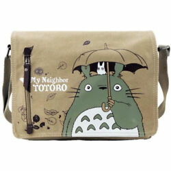 My Neighbor Totoro Canvas Shoulder Bag Anime Cosplay Backpack Messenger Outfit $16.80