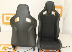 Part suedeleather heated Recaro pair front seats Fit Land Rover Defender 90110