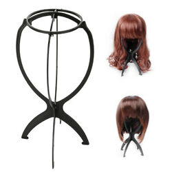 Pro Folding Wig Stand Hair Hat Cap Holder Mannequin Stable Durable Display