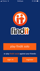 O FINDIT - THE ADDICTIVE PHOTO GAME! MOBILE APP FOR iOS GREAT FOR ENTREPRENEURS