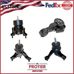 Engine Motor And Trans Mount Set 4pcs For 2004 - 2006 Toyota Sienna 3.3l Fwd