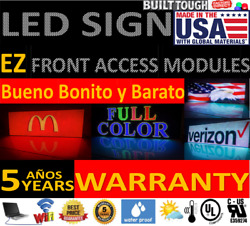 Led Sign For Outdoor Full Color Dip Pixel 10mm Wifi 32 X 38 Made In U.s.a.