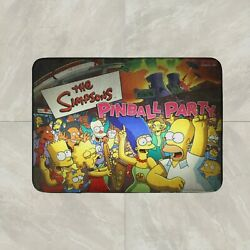 Simpsons Pinball Party Game Rug Mat Floor Door Home House Cotton Collectible