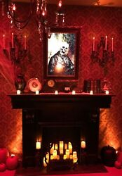 Halloween Haunted House Props Decor Parlor