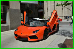 2014 Lamborghini Aventador Long-term finance program $3131month 2014 LP700-4 Aventador Roadster