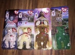 Complete Set of Retired Mcdonalds Beanie Babies