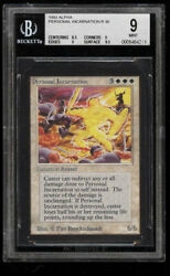 ALPHA Personal Incarnation - BGS Graded 9.0 MTG (rarest card in all of Alpha)