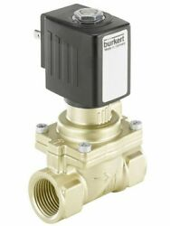Burkert 2/2 NORMALLY CLOSED SOLENOID VALVE 50mm 230V AC Coupled, 0.2-16 Bar