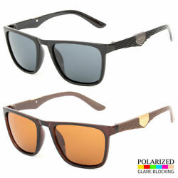 Polarized Sunglasses Men Driving Glasses Aviator Outdoor Sports Uv400 Eyewear $8.79