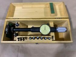 Vintage No. 5 Dial Bore Gage Set By Standard Gage Company
