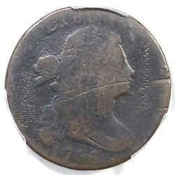 1796 S-99 R-5 Pcgs G Details Single Leaves Draped Bust Large Cent Coin 1c