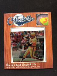 Pittsburgh Pirates Willie Stargell Lapel Pin-collectable 4 Caps And Jerseys