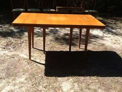 Conant Ball Russel Wright 7 Foot Table Mid Century Modern