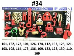 Auto Body Frame Machine Heavy Duty 21 Piece Pulling Tools And Clamps Set