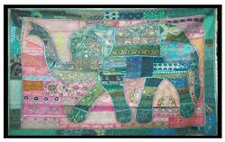 Indian Hippie Elephant Tapestry Wall Hanging Bohemian Bedspread Dorm Throw Decor