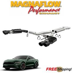Magnaflow Competition Ss Cat Back Dual Exhaust 2018-2021 Ford Mustang Gt 5.0l V8
