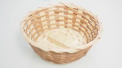 Small Straw Wicker Reed Baskets Bins Party Favor Gift Candy Containers